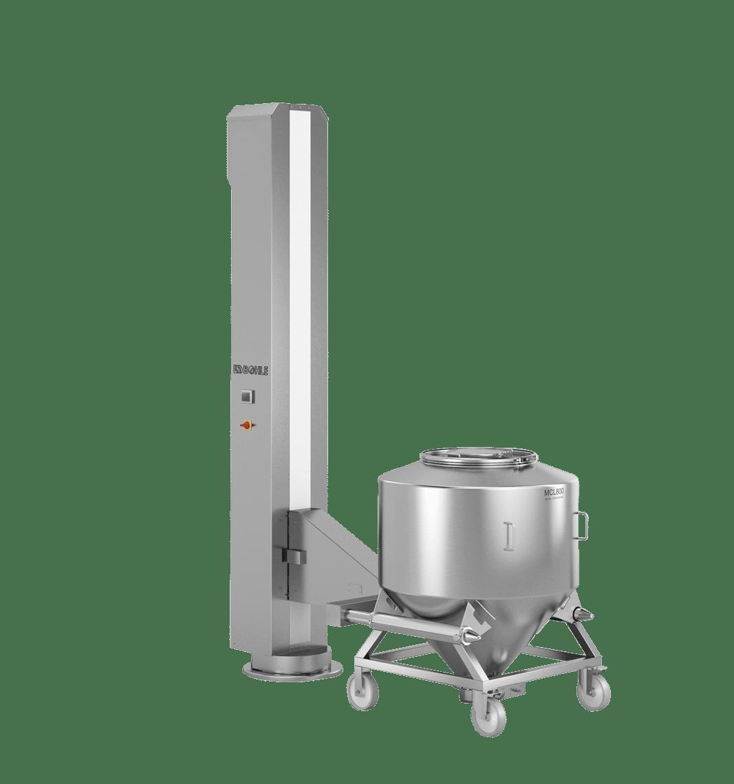 Lifting column OSD production