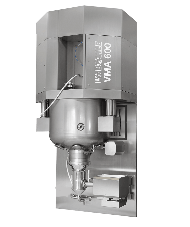 Single-Pot Granulation VMA 600